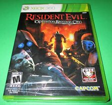 Resident Evil: Operation Raccoon City Microsoft Xbox 360 *New-Sealed-Free Ship!