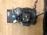 2001 BMW X5 E53 3.0 HEATER BLOWER FAN MOTOR WITH RESISTER 5399940110