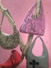 McCalls Sewing Pattern 5486 Four Lined Hobo Bags Uncut Fashion Handbags