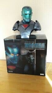 Stealth Iron Man Legendary Scale Bust Sideshow