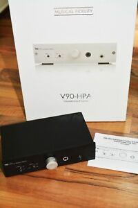 Musical Fidelity V90-HPA 24 Bit / 96 kHz schwarz Kopfhörerverstärker OVP