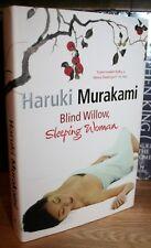 HARUKI MURAKAMI + BLIND WILLOW SLEEPING WOMAN +  BLACKWELLS SIGNED LTD 27/85