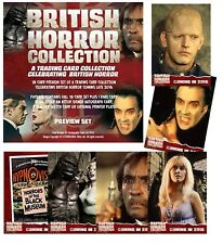 British Horror Collection Sealed Trading Card Preview Pack by Unstoppable (2016)
