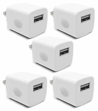 Wall Charger, Universal USB Port Power Portable Adapter AC 5W Home Charger fo...