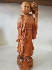 Carved Wooden Oriental  Figure