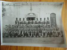 PHOTO DE GROUPE FORCES FRANCAISES LIBRES FFL COLONIALE  2è GM 39-45 LIBERATION