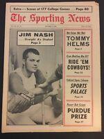 1966 Sporting News KANSAS CITY Athletics A's JIM NASH No Label DALLAS COWBOYS