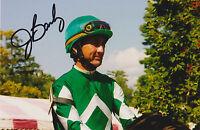 Jerry Bailey Signed 4x6 Photo Jockey Hall of Fame Kentucky Derby Bill Mott