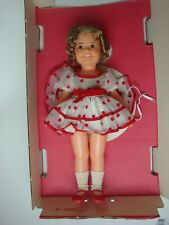 Ideal Now Appearing Shirley Temple Doll White and Red Polka Dot Dress w/ Box