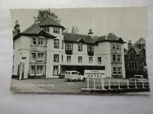 old rp postcard  the strathpeffer hotel   (unposted) 1950's??