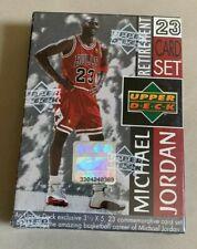 1999 UPPER DECK MICHAEL JORDAN RETIREMENT NBA BASKETBALL CARD SET