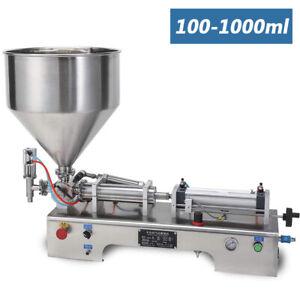 The New Liquid Paste Filling Machine Pneumatic Bottler Filler 100-1000ml Filler