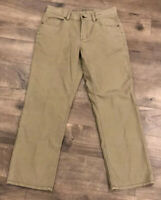 Tommy Bahama Mens Pants Size 35/30 Classic Fit Green