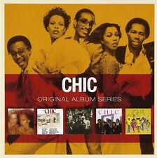 Chic - Original Album Series 5 CD Set 2011 Warner
