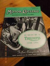 Motor Cycling/29,12,1955/zundapp 200s test  /ariel sq-4 test