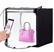 24''x24''x24'' All In One LED Photo lighting Studio Shooting Tent Kit 3 Backdrop