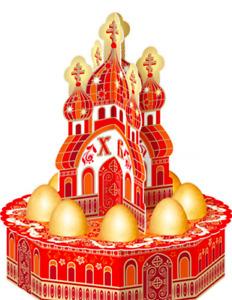 Easter souvenirs stand for eggs easter orthodox russia подставка для яиц church