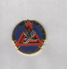 US Army 164th Aviation Group crest DUI c/b clutchback badge Vanguard