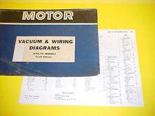 1970 1971 1972 1973 1974 BUICK SKYLARK GRAN SPORT GS 455 VACUUM+WIRING DIAGRAMS