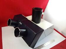 Leica Dmr Germany 551501 Trinocular Head Microscope Part Optics As Is Amp98 61