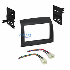 Car Radio Stereo Double Din Dash Kit Wire Harness for 2004-2010 Toyota Sienna