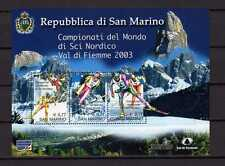 15036) SAN MARINO 2003 MNH** Nuovi** - Ski World