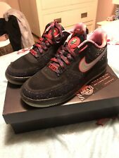 NIKE air force 1 LUNAR FORCE 1 FUSE AREA 72 51 BLACK UK 8.5 US 9.5 TRAVIS SCOTT
