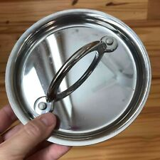 """Jamie Oliver 6 Inch Outer (5 1/2"""" Inner) T-FAL Stainless Steel Replacement Lid"""