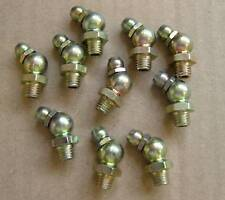 M6 x 1  45˚Angle Grease Nipple Fitting (10 pack) - Made in UK - 1st Class Post
