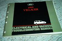 1995 Ford Mercury Villager Van Electrical & Vacuum Troubleshooting Manual EVTM