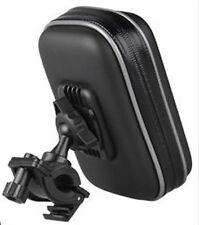 """4.3"""" SATNAV Waterproof GPS phone Case w/Cycle Mount Holder for Motorcycle Bike"""