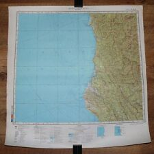 Authentic Soviet TOP SECRET Military Map Eureka, Arcata, Cutten California USA