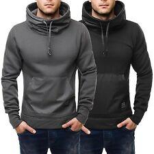 Lange unifarbene Herren-Sweatshirts