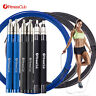 Fitnessclub 10FT Speed Jump Rope Boxing Gym Training Fitness Black Blue Color