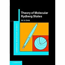 Theory Molecular Rydberg States M. S. Child Hardcover 9780521769952 Cond=LN:NSD