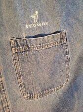 Segway Collectors Vintage early Marketing, Denim shirt, HT tools & handlebar bag