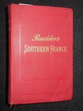 Southern France Including Corsica (1907) Karl Baedeker - Vintage Travel Guide