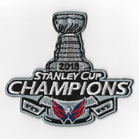 NHL Washington Capitals 2018 Stanley Cup Champions Iron on Patches Patch A