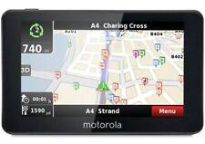 "MOTOROLA Xplore500 5"" Sat Nav UK and ROI Map Free Life Time Updates"
