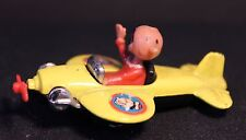 CORGI - Popeye - Olive Oil in Yellow Plane Vintage Toy