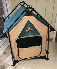 """NEW - Dawg E Tent by Lucky Dog Portable Dog Tent--24""""x24""""x35""""--"""