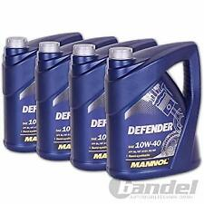 20 Litre Mannol 10w40 Semi Synthetic Motor Engine Oil 5L DEFENDER GERMAN BRAND
