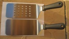 2 Commercial Grade Stainless Steel Spatulas