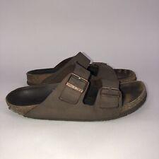 $118 BIRKENSTOCK Arizona Sandals Size 42 Narrow Womens 11-11.5 Mens 9-9.5 Brown