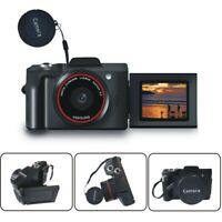 Flip Screen Digital SLR Camera 3.0 Inch TFT LCD Screen 16X Zoom HD 16MP 1080P
