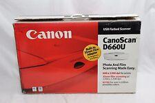 Canon CanoScan D660U Flatbed Scanner