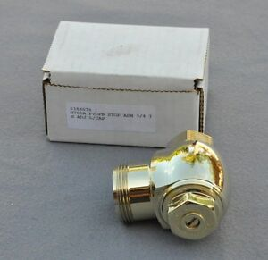 "Brand New Sloan H700A PVDPB STOP ASM 3/4 IN ADJ L/CAP (0388076) ""Gold"" Color"