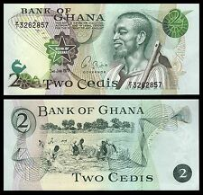 Ghana 2 Cedis  2-1-1977  Pick 14c1   SC = UNC