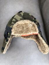 Gap Kids Hat size S/M Camo with orange inner lining