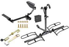 Trailer Hitch Bundle Fits 13-18 Toyota RAV4 + Bike Rack Lock Pin Anti Rattle
